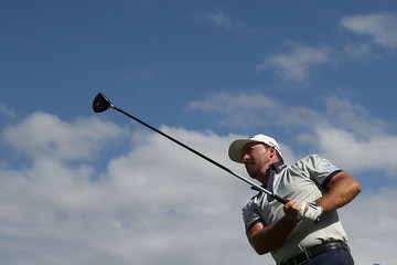 Graeme McDowell ISPS Handa World Cup of Golf - Day 1