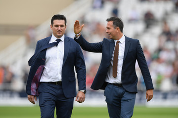 Graeme Smith England v South Africa - 2nd Investec Test: Day Three