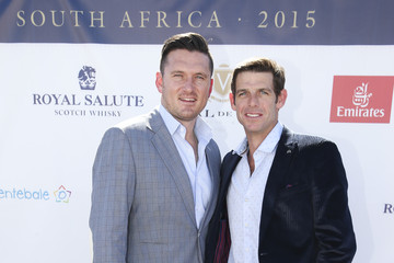 Graeme Smith Sentebale Royal Salute Polo Cup in Cape Town with Prince Harry - Red Carpet