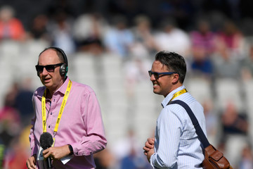 Graeme Swann England v South Africa - 4th Investec Test: Day Two