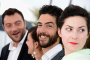 (L-R) Actor Denis Menochet, actress Camille Lellouche, actor Tahar Rahim and Director Rebecca Zlotowski attends the 'Grand Central' Photocall during The 66th Annual Cannes Film Festival at Palais des Festivals on May 18, 2013 in Cannes, France.