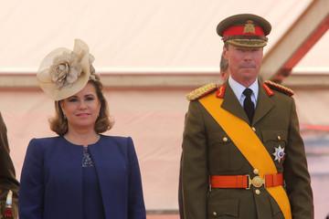 Grand Duchess Maria Teresa Of Luxembourg Luxembourg Celebrates National Day