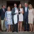 Grand Duchess Maria Teresa Of Luxembourg Christening Of Princess Amalia Of Luxembourg In Lorgues