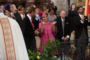 Grand Duke Jean Religious Wedding Of Prince Felix Of Luxembourg & Claire Lademacher