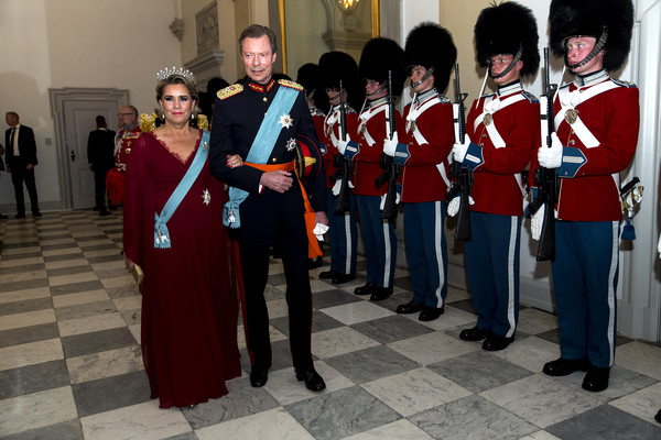 Crown Prince Frederik Of Denmark Holds Gala Banquet At Christiansborg Palace