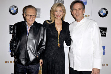 Larry King Grand Opening Of Thomas Keller's Bouchon In Beverly Hills