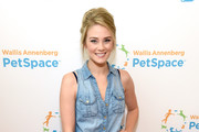 Actor Kim Matula at the grand opening of The Wallis Annenberg PetSpace on June 24, 2017 in Playa Vista, California.