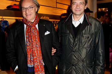 Carlo Verdelli Grand Stadium Jacket Cocktail Party At Fay Boutique
