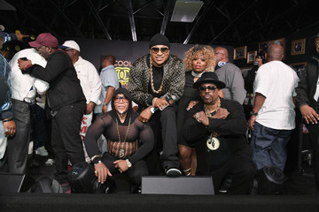 Grandmaster Caz LL COOL J Celebrates the Launch of His Exclusive SiriusXM Channel 'Rock The Bells Radio' At World On Wheels In Los Angeles