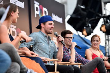 Grant Gustin Entertainment Weekly's PopFest