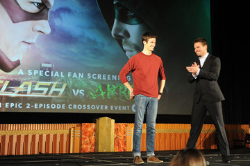 "Grant Gustin Special Screening For The CW's ""Arrow"" And ""The Flash"""