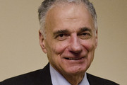 """Ralph Nader poses for a photo during a screening of """"The Greatest Movie Ever Sold"""" at E Street Cinema on March 24, 2011 in Washington, DC."""