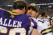 Aaron Rodgers and Jared Allen Photos Photo