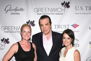 (L-R) GIFF co-founder Colleen deVeer, actor Chazz Palminteri and GIFF co-founder Wendy Stapleton Reyes attend Greenwich Film Festival 2015 - All Things Must Pass Opening Night Premiere at Bow Tie Cinemas on June 5, 2015 in Greenwich, Connecticut.