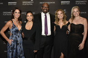 Wendy Stapleton, Eva Longoria Baston, Bobby Walker Jr., Kathie Lee Gifford, Ginger Stickel attend the red carpet for The Greenwich International Film Festival 5th Annual Changemaker Gala Honoring Eva Longoria Baston and Local Changemaker Bobby Walker at Betteridge on May 30, 2019 in Greenwich, Connecticut.