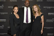 Eva Longoria Baston, Bobby Walker Jr. and Kathie Lee Gifford attend the red carpet for The Greenwich International Film Festival 5th Annual Changemaker Gala Honoring Eva Longoria Baston and Local Changemaker Bobby Walker at Betteridge on May 30, 2019 in Greenwich, Connecticut.