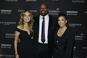Kathie Lee Gifford, Bobby Walker Jr. and Eva Longoria Baston attend The Greenwich International Film Festival 5th Annual Changemaker Gala Honoring Eva Longoria Baston and Local Changemaker Bobby Walker at  L'Escale on May 30, 2019 in Greenwich, Connecticut.