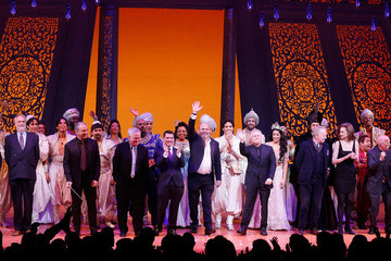 Greg Barnes 'Aladdin' Opening Night and Curtain Call
