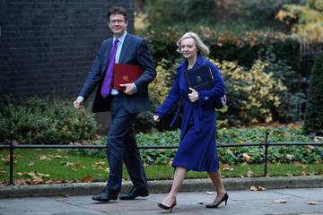 Greg Clark Government Ministers Arrive For A Cabinet Meeting Ahead Of The Autumn Statement