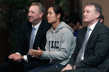 Greg Hawkins Li Na Attends Tennis Australia's Activity In Beijing