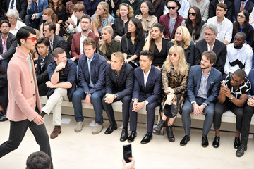 Greg James Tinie Tempah Behind the Scenes at the Burberry Runway Show