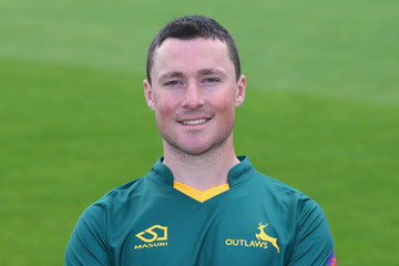 Greg Smith Nottinghamshire CCC Photocall