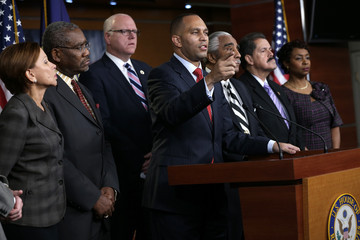 Gregory Meeks New York Lawmakers Discuss Grand Jury Decision