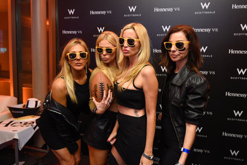 Gretchen Rossi Hennessy Lounge At The W Scottsdale - Day 2