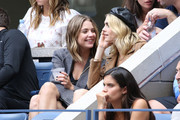 Ashley Benson, Cara Delevingne and Sara Sampaio attend as Grey Goose toasts to the 2019 US Open at Arthur Ashe Stadium on September 07, 2019 in New York City.