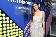 Sara Sampaio attends as Grey Goose toasts to the 2019 US Open at Arthur Ashe Stadium on September 07, 2019 in New York City.
