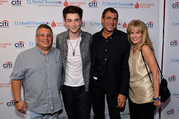"Greyson Chance ""T.J. Martell Foundation's 14th Annual Family Day Honoring Paradigm Talent Agency's Marty Diamond And Family"" - Arrivals"