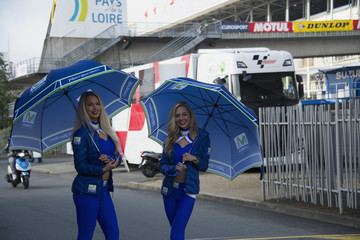 Grid Girls MotoGp of France - Qualifying