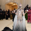Grimes The 2021 Met Gala Celebrating In America: A Lexicon Of Fashion - Arrivals