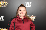 "Alana Thompson attends ""Growing Up Hip Hop Atlanta"" season 2 premiere party at Woodruff Arts Center on January 9, 2018 in Atlanta, Georgia."