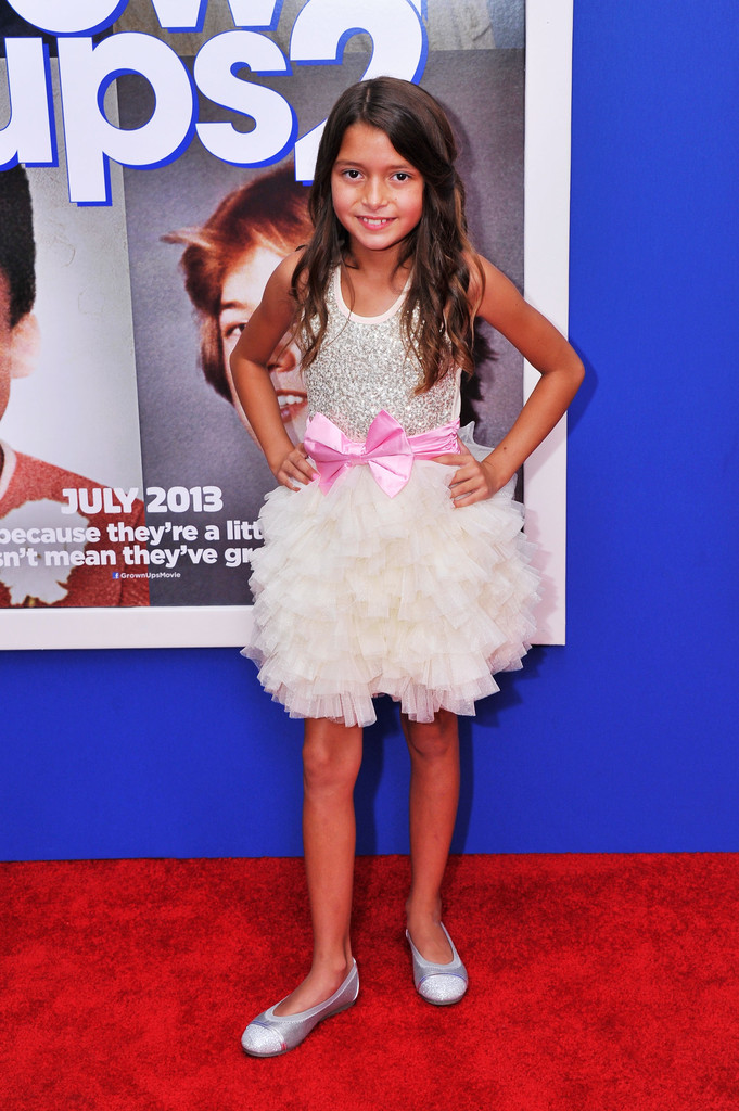 Alexys Nycole Sanchez in 'Grown Ups 2' Premieres in NYC ...