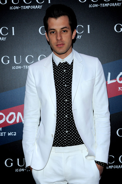 Mark Ronson in Gucci Icon Temporary: London Opening ...