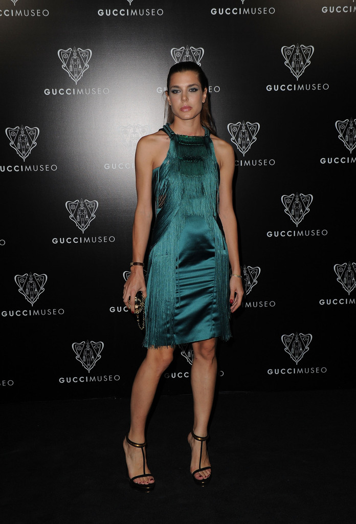 Charlotte Casiraghi In Gucci Museum Opening In Florence