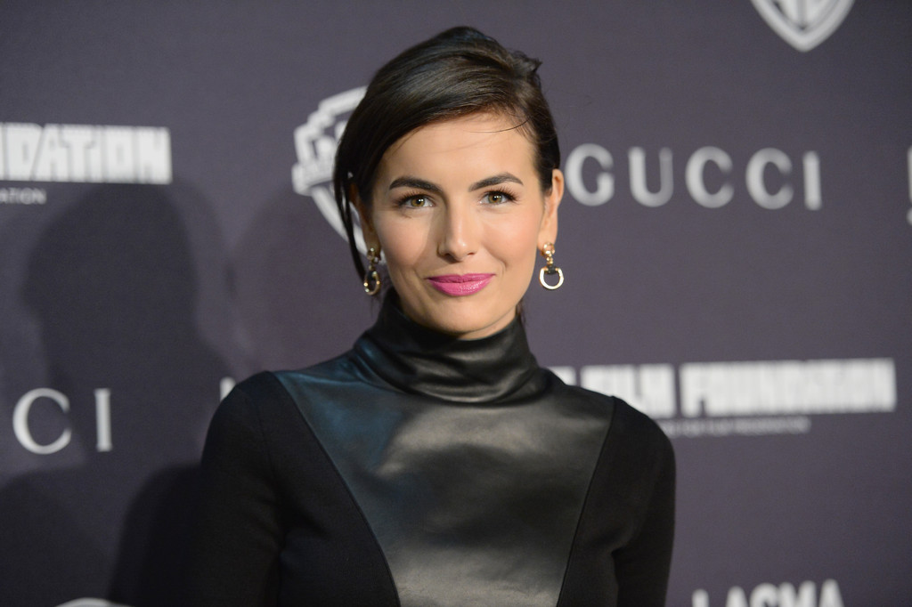 "Actress Camilla Belle attends Gucci&squot;s presentation of The Restoration Premiere of ""Rebel Without A Cause"" at LACMA on November 1, 2013 in Los Angeles, California."
