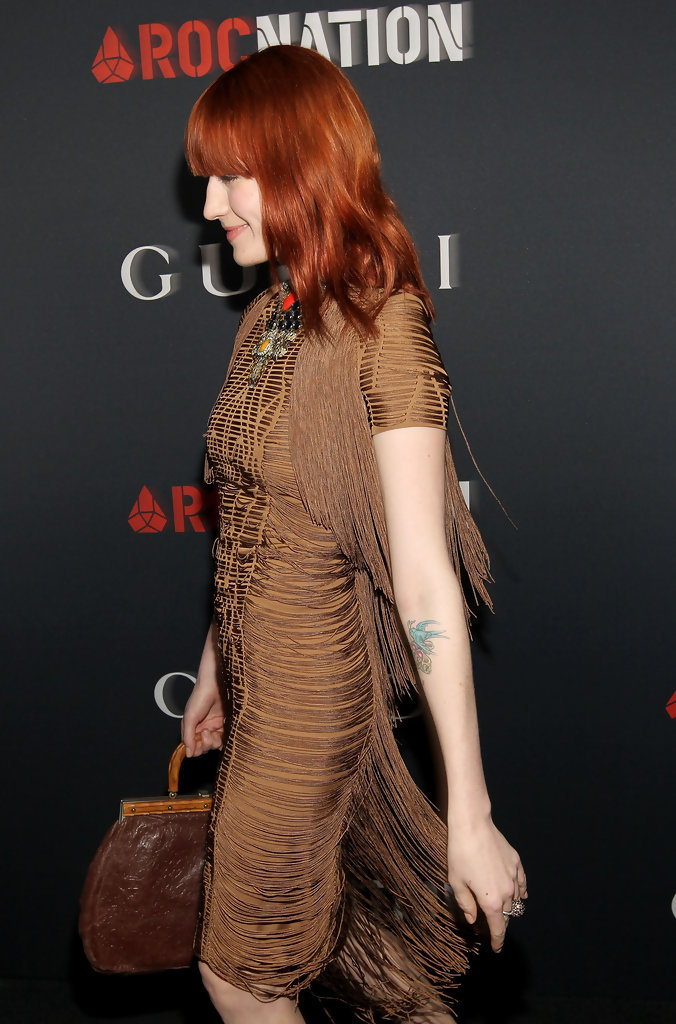 на Gucci and RocNation Pre-GRAMMY Brunch held at Soho House on February 12, 2011