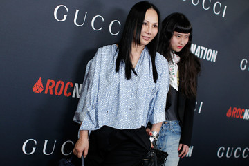 Eva Chow Asia Chow Gucci and Rocnation Pre-GRAMMY Brunch - Red Carpet