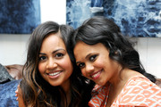 Actresses Jessica Mauboy (L) and Miranda Tapsell attend the Guess Portrait Studio - Day 5 at the 2012 Toronto International Film Festival at Bell Lightbox on September 10, 2012 in Toronto, Canada.