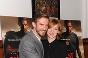 Actor Dan Stevens (L) and wife Susie Stevens attend 'The Guest' New York special screening at BAM on September 16, 2014 in New York City.