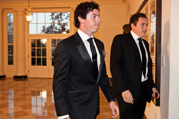 Conor Ridge Guests Arrive For White House State Dinner For UK Prime Minister Cameron