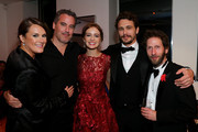 (L-R) The Art of Elysium founder Jennifer Howell, producer Vince Jolivette, actress Ahna O'Reilly, director James Franco and actor Tim Blake Nelson attend the Art Of Elysium PARADIS during the 66th Annual Cannes Film Festival at L' Oservatoire on May 20, 2013 in Cannes, France.