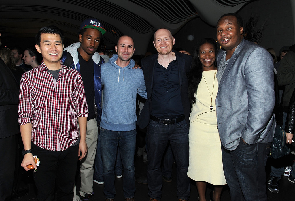 Bill Burr Nia Renee Hill Adam Lowitt Roy Wood Jr Ronny Chieng Jak Knight Bill Burr And Nia Renee Hill Photos Zimbio