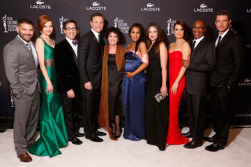 Guillermo Diaz Darby Stanchfield 16th Costume Designers Guild Awards With Presenting Sponsor Lacoste - Green Room