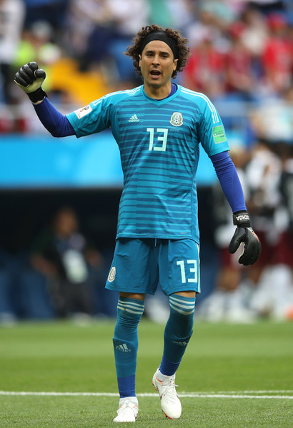 2979a3ee8c2 Guillermo Ochoa Photos Photos - Korea Republic vs. Mexico: Group F ...