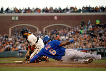 Guillermo Quiroz New York Mets v San Francisco Giants