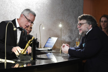 Guillermo del Toro 90th Annual Academy Awards - Governors Ball