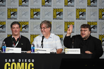 Guillermo del Toro 'The Simpsons' Panel at Comic-Con International 2015